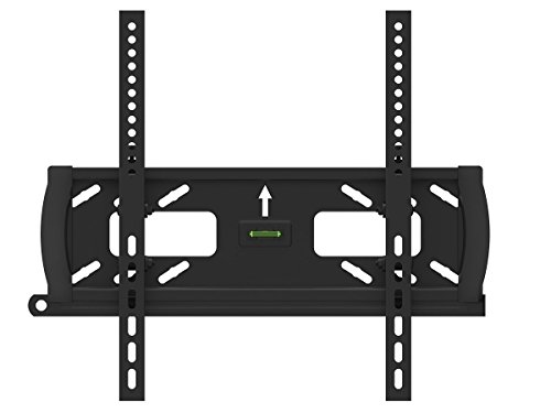 Black Adjustable Tilt/Tilting Wall Mount Bracket with Anti-Theft Feature for Haier 50E3500 50