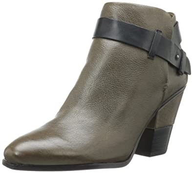 Dolce Vita Women's Hilary Bootie,Olive Leather,6 M US