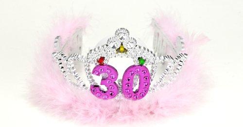 Forum Novelties Flashing Birthday Tiara #30 Novelty Item