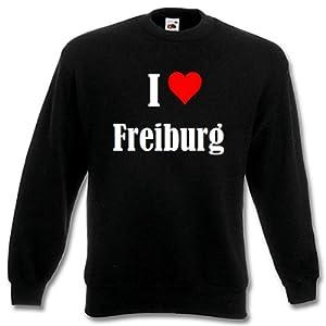 """Kinder Sweatshirt """"I Love Freiburg """" Niedersachsen versch. Farben 104 - 116 - 128 - 140 - 152 - 164"""