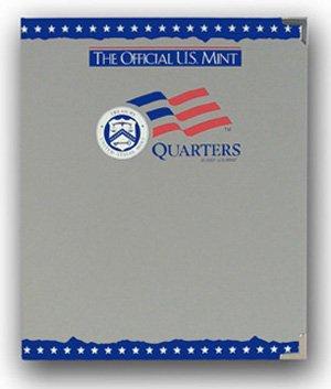 The Official US Mint / Coin Album Quarters, Plain - By Whitman
