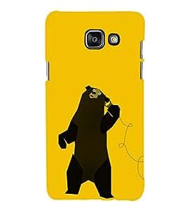 EPICCASE talking bear Mobile Back Case Cover For Samsung Galaxy A5 (Designer Case)