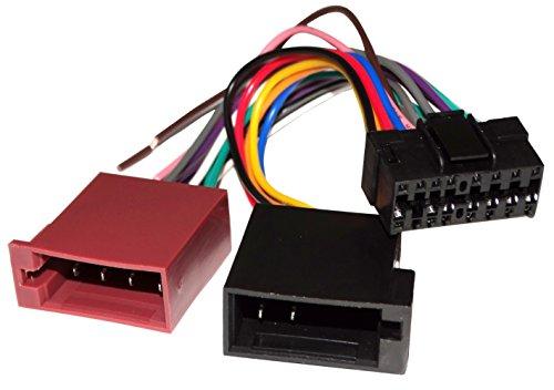 E6 ISO-Konverter - Adapter - Kabel Radioadapter Radio Kabel Stecker ISO-Kabel Verbindungs