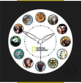 National Geographic Animal Sound Clock