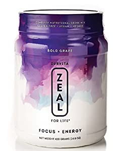 New Zeal for Life Bold Grape Wellness 30 Days, 420mg