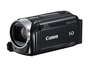 Canon LEGRIA HF R46 High Definition Camcorder (32x Optical Zoom, Image Stabilisation, Wi Fi, 8GB Internal Storage and 3 inch Touchscreen LCD)