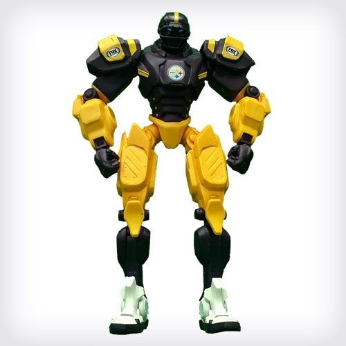 NFL Pittsburgh Steelers 10 Team Cleatus FOX Robot Action Figure Version 2.0