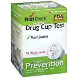 FIRST CHECK TEST CUP MARIJUANA 1 EACH