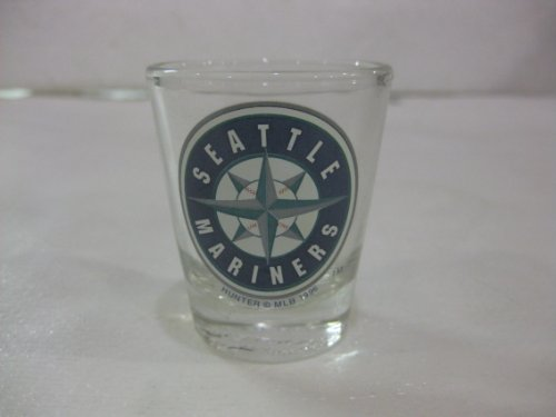 MLB Seattle Mariners Glass Shot Glass at Amazon.com