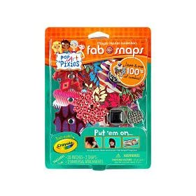 Toys games arts crafts online store for Crayola pop art pixies fab snaps jewelry set