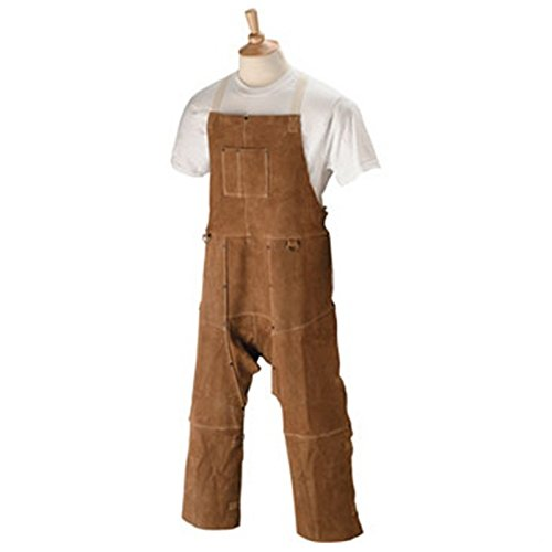 "Black Stallion 48SL 48"" Quality Side Split Cowhide Welding Split Leg Apron"