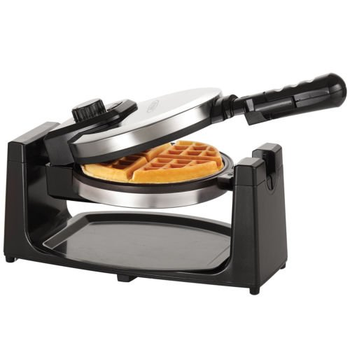 Bella Modern Convenient Stainless Steel Grey Rotating Waffle Maker (Bella Microwave Red compare prices)