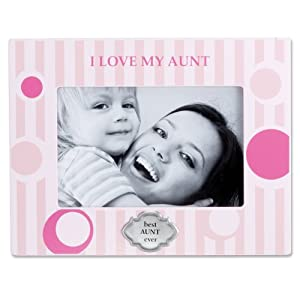 Lawrence Frames 430646 I Love My Aunt Horizontal Picture Frame, 4 by 6-Inch