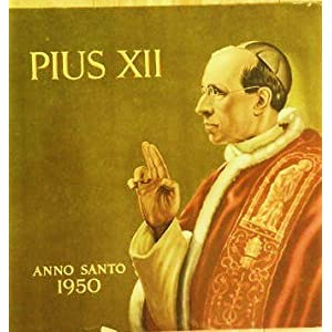 "Amazon.com: Pope Pius XII: Pope Pius XII - Anno Santo 1950 ""The Voice"