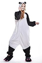 VU ROUL Unisex-adult Clothing Kigurumi Cosplay Costume Kung Fu Panda Pyjamas