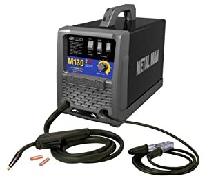 Metal Man M130 130 Amp 115-Volt MIG Wire Feed Welder by Metal Man