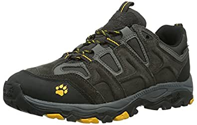Jack Wolfskin Mountain Attack Texapore Men 4010011-6101115 Herren Trekking- & Wanderschuhe, Schwarz (shadow black), EU 40.5 (UK 7) (US 8)