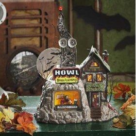 Dept 56 Halloween Howl Radio