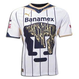 Amazon.com : Pumas 09/10 Home Soccer Jersey : Sports Fan Soccer