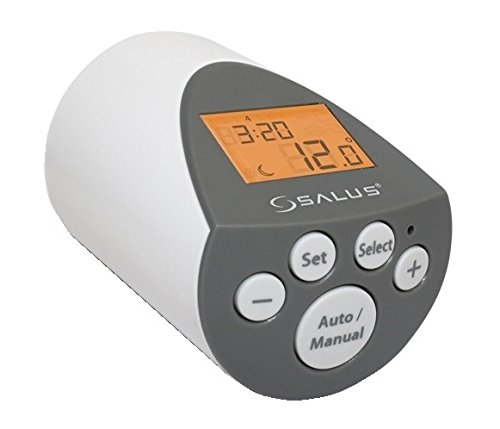 Salus PH60 Fully Programmable Thermostatic Radiator Valve with PI Control (Radiator Control compare prices)