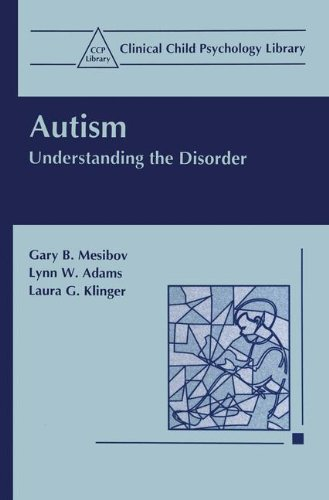 Autism: Understanding the Disorder (Clinical Child Psychology Library)