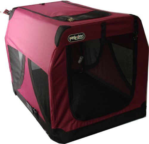 Pet Brands Petzden Canvas Fold Flat Pet Retreat, Large, 72 x 51 x 51 cm