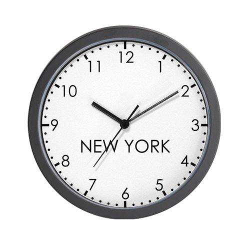 CafePress NEW YORK Modern Newsroom Wall Clock - Standard Multi-color [Kitchen]