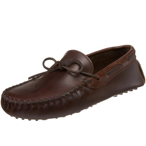Minnetonka Men's Original Cowhide Driving Moccasin,Brown,11.5 M US