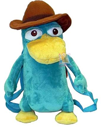 """Amazon.com: Phineas and Ferb Perry the Platypus 16"""" Plush ..."""