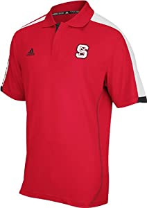 Buy adidas North Carolina State Wolfpack Swagger Golf Polo - Red by adidas
