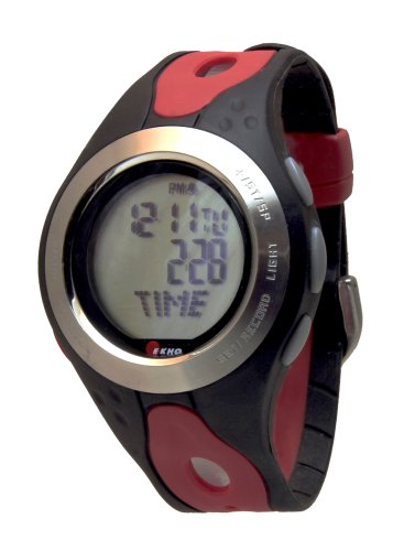 Cheap Ekho WM-128 Heart Rate Monitor Watch (Fit-28-BLR)
