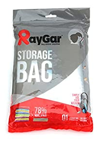 RayGar 6 VACUUM COMPRESSED STORAGE SAVING SPACE BAGS 100 X 80 CM Clothing, Duvets, Bedding, Pillows, Curtains