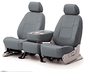 03-07 Honda Accord Coupe Coverking Genuine Leather Custom Fit Seat Covers FRONT ROW