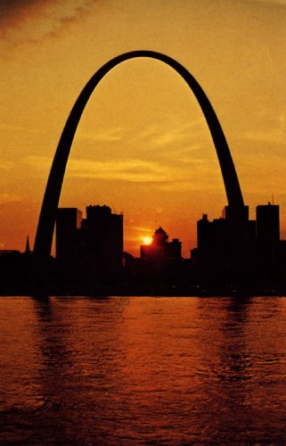 Gateway Arch, St. Louis, at Sunset - Fine-Art