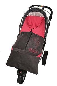 ByBUM - Saco abrigo, Saquito l 2 en 1 primavera, verano, otoño, para el asiento del bebé; Universal para coches, asiento de coche, por ejemplo, Maxi-Cosi, de cochecito o silla de paseo