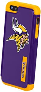 Forever Collectibles Minnesota Vikings Rugged Dual Hybrid Apple iPhone 5 & 5S... by Forever Collectibles