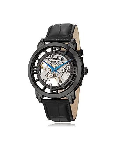 Stuhrling Original Men's 165B2.335569 Winchester 44 Automatic Black Leather Watch