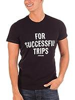 Diesel Camiseta Manga Corta Trips (Negro)