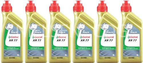 Castrol Racing XR77 2T Engine Oil CAS-2040-7176-6 - 6x1L = 6 Litre