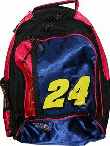 Jeff Gordon Pacific Connections Dupont Blue Backpack Bag by RacingGifts