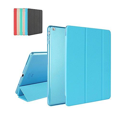 iPad Mini 3 / Mini 2 / Mini 1 Custodia, MTRONX™ Smart Cover Case Ultra Sottile Di Peso Leggero Pellicola Protettiva Custodia con Magnetico il Sonno / Sveglia La Funzione per Apple iPad Mini 1/2/3 - Blu (FB-DB)