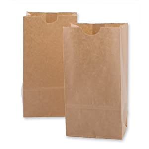 Amazon.com: Mini Kraft Paper Bags 100 per pack: Toys & Games