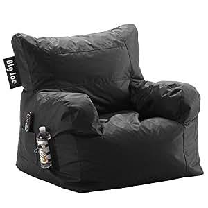 big joe dorm chair limo black bean bag chairs. Black Bedroom Furniture Sets. Home Design Ideas