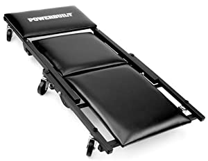 """Powerbuilt 640981 3-In-1 40"""" Floor Creeper with Tool Tray"""