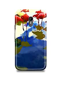 Abstract Oil Painting Moto G3 Case