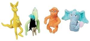 Dr. Seuss Horton Hears a Who Finger Puppet Set by Manhattan Toy