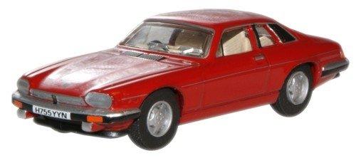 Jaguar-XJS-rot-Modellauto-Fertigmodell-Oxford-176