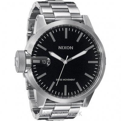 nixon-chronicle-ss-watch-herren-schwarz-one-size