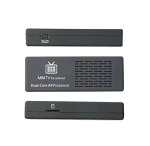 MK808 Mini PC / Android 4.1.1 / デュアルコア 1.6GHz CPU / RAM 1GB / NAND 8GB / WiFiチップ内蔵 / Bluetooth非搭載