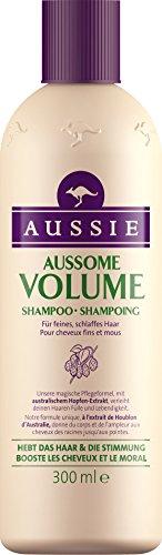 Aussie Aussome Volume Shampoing pour Cheveux Fins et Mous 300 ml